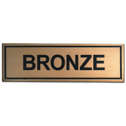 Bronze is a common metal alloy, typically made using mostly copper and some tin.
