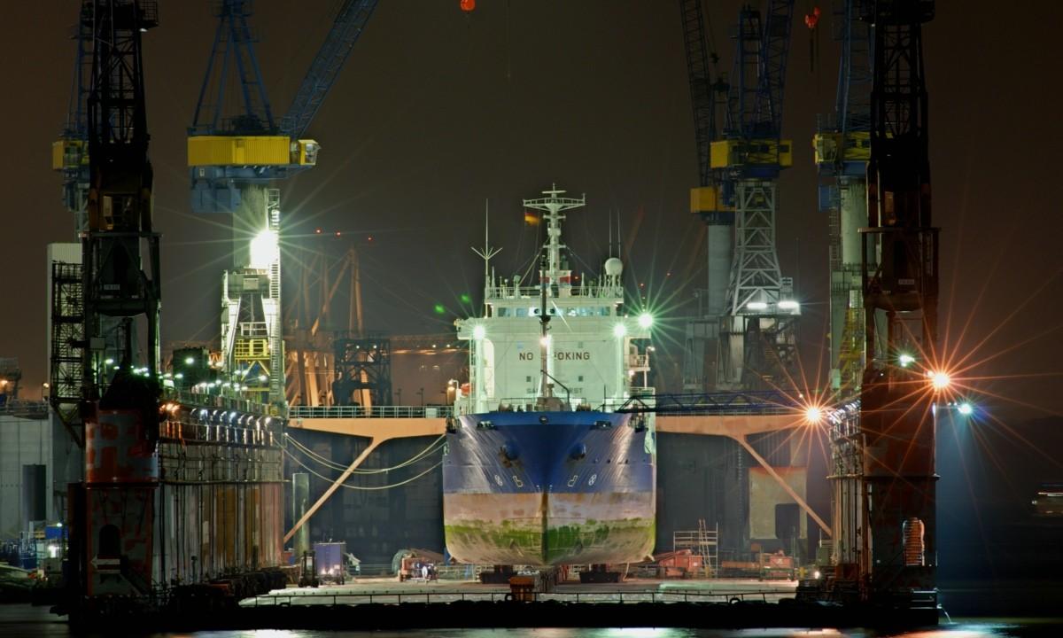 Ersatzteile für den Schiffbau