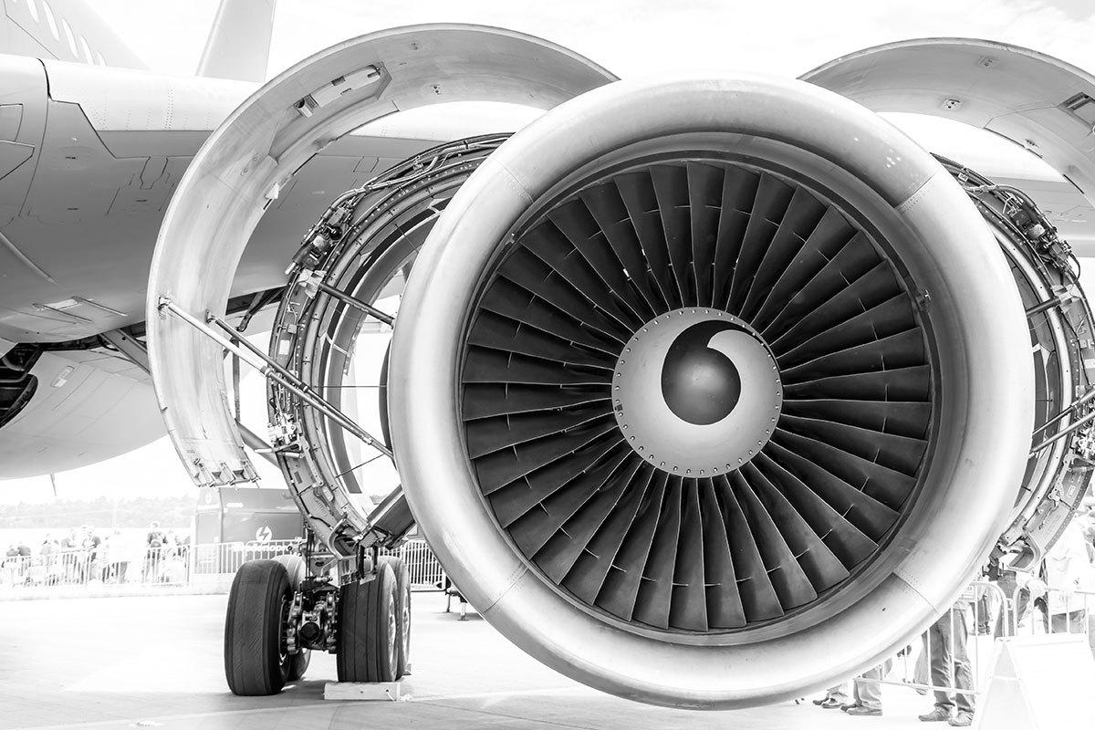 المنيوم 2024 لمحرك الطائرات