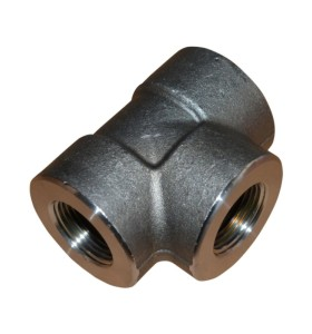 Top Quality Customized Hot Forged Tube Fittings Steel Tee Joint Pipe Accessories