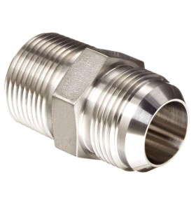 Custom High Pressure CNC Machining Nickel Plating Aluminum Adapter Fittings Straight Pipe Parts