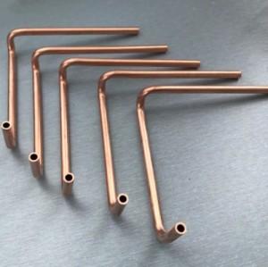 OEM de haute qualité usinage T2 raccords en cuivre rond pour les montages de climatiseur
