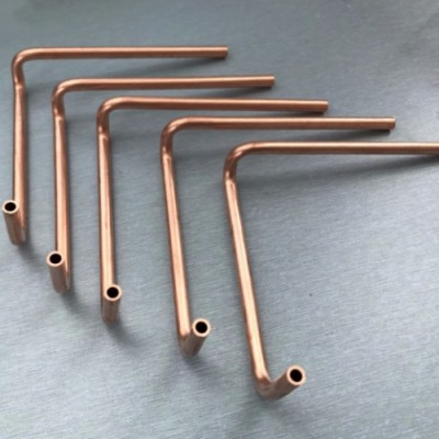 OEM Top Quality Bearbeitung T2 Round Copper Fittings für Klimaanlagenhalterungen