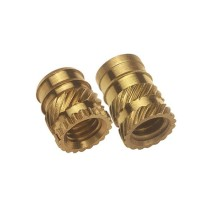 OEM High Precision Brass Casting Construction Parts for Brass Inserts