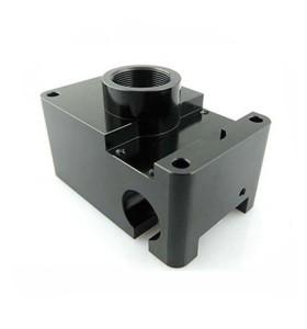 Части CNC высокой точности поворачивая подвергая механической обработке с чернотой анодированной