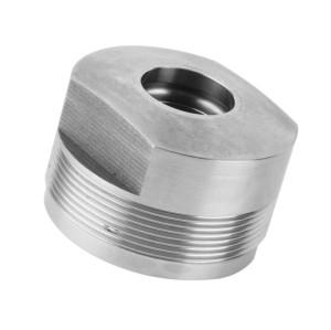 Piezas de acero de fresado CNC mecánicas de alta calidad personalizadas de China