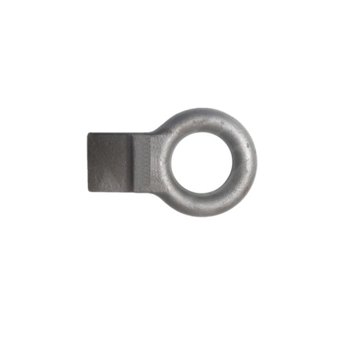 Custom High Precision Steel Hot Forging Pintle Eye with Tape for Trailer Accessories