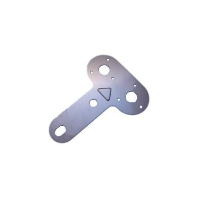 Placas de montaje de zócalo de acero de alta precisión personalizadas