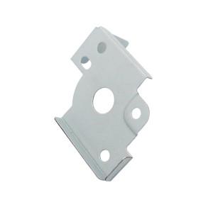 Estampado de acero de alto acabado personalizado para piezas de soporte de cajón con amoladora de precisión