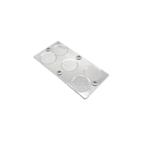 OEM de alta precisión de aluminio estampado presionando piezas para cortina automática