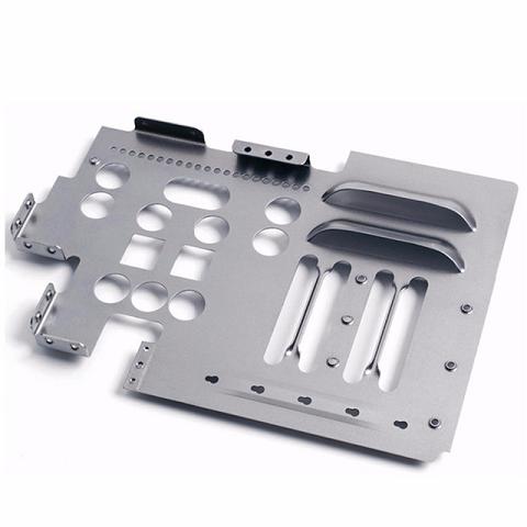 مخصص الفولاذ المقاوم للصدأ عالية الدقة ختم المكونات الإلكترونية لقطع الإسكان