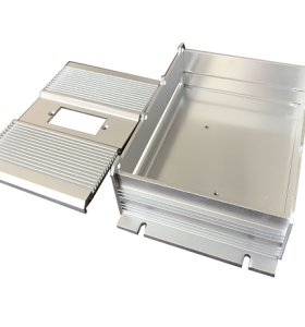 مخصص الألومنيوم عالية الدقة ختم أجزاء إلكترونية لحاوية مربع