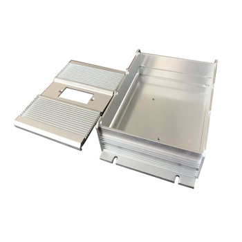 Custom High Precision Aluminum Stamping Electronic Parts for Box Enclosure