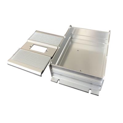 Piezas electrónicas de aluminio de alta precisión personalizadas para caja cerrada