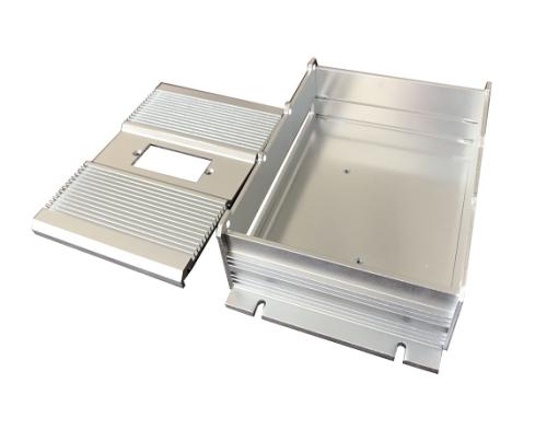Изготовленный на заказ алюминий высокой точности штемпелюя электронные части для приложения коробки