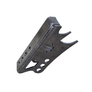 Componentes de riel de acero de alta precisión personalizados para piezas de doblado