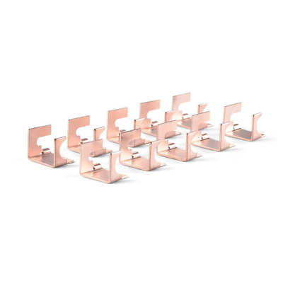 Componentes electrónicos de sellado de cobre OEM para piezas de doblado