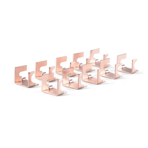 OEM النحاس ختم المكونات الإلكترونية لأجزاء الانحناء