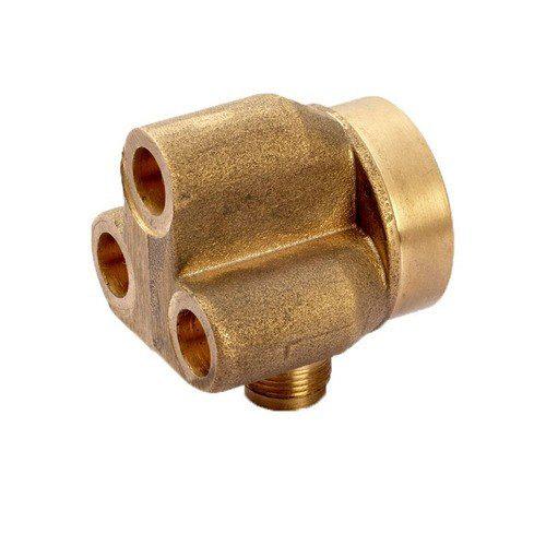 Fundición de cobre de alta precisión personalizada para piezas de válvula