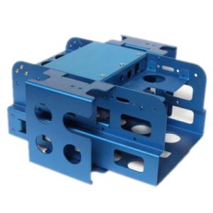 Componentes industriales de alta precisión de sellado de aluminio OEM para piezas de maquinaria