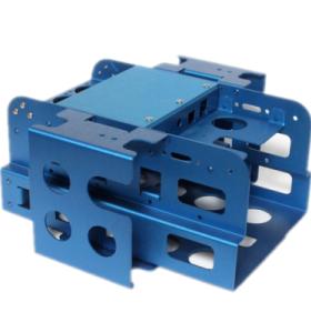 Oem Hochpräzise Aluminium-Stanz-Industriekomponenten für Maschinenteile