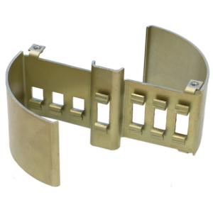 Herrajes para muebles de sellado de latón de alta precisión OEM para piezas de bisagra