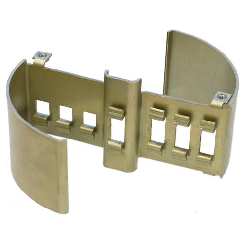 Laiton de haute précision d'OEM emboutissant le matériel de meubles pour des pièces de charnière