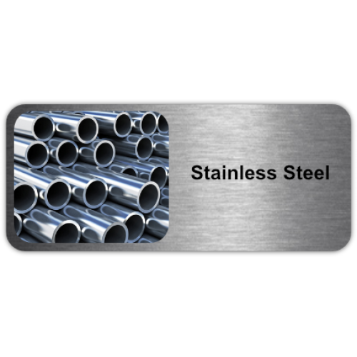 Stainless Steel is a steel alloy which contains a minimum of 10% chromium.