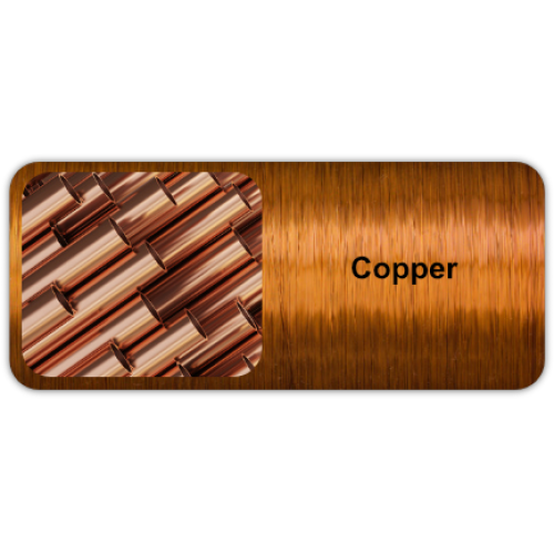 Copper is a naturally occurring, non-magnetic metal known for its unique brownish-red color.