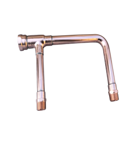Precision OEM Pickling and Deactivation Copper Manifold Mounting Welding Pipe Fittings