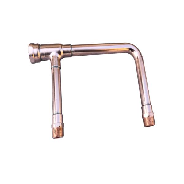 Precisión OEM Decapado y desactivación Montaje de colector de cobre Accesorios de tubería de soldadura