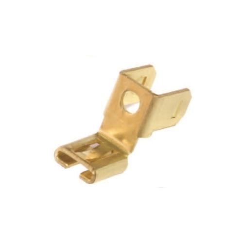 Kundenspezifischer hochpräziser Messingstempel-Adapter für elektronisches Zubehör