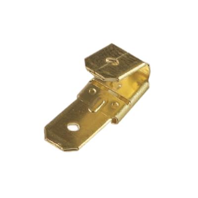 Benutzerdefinierte hochpräzise Messingstempel weiblich doppelt männlich Huckepack Adapter elektronische Komponenten
