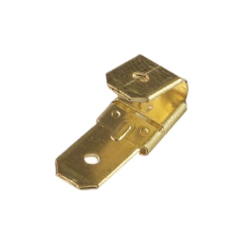 Personalizado de alta precisión de latón estampado hembra doble macho Piggyback adaptador componentes electrónicos