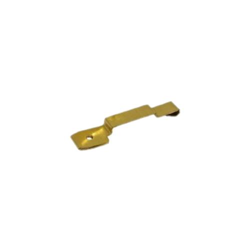 Grifo de fusible de estampado de latón de alta precisión personalizado para componentes electrónicos