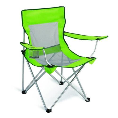 Steel Folding Canvas Padded Beach Camping Chair-Cloudyoutdoor