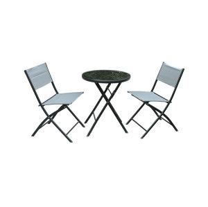 Cheap 3 Pieces Patio Set Modern Furniture Seating Set-Cloudyoutdoor