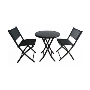 Cloudyoutdoor YTCT002B garden set furniture outdoor dining set with 2 chairs by home styles