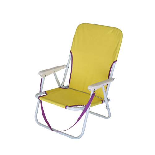 Multi-Function Fishing Camping Relax Canvas Wood Beach Rest Chair-Cloudyoutdoor