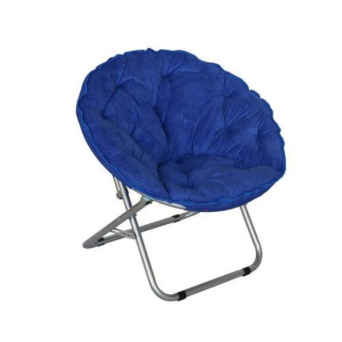 500gsm Sponge Filling Folding Camp Garden Moon Chair-Cloudyoutdoor