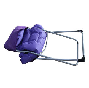 Adult Queen Sun Chair Folding Half Moon Chair-Cloudyoutdoor