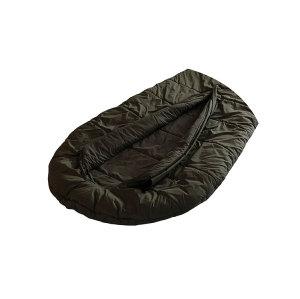 Camping hiking mummy green multifunctional sleeping bag waterproof