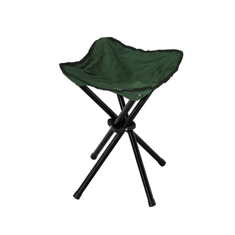 four legs green fishing chair