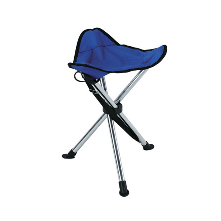 blue fishing chair