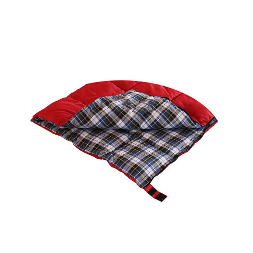 Red/green Promotional Field Warm Sleeping Bags for Cold Weather-Cloudyoutdoor