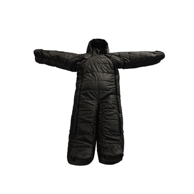 China Factory Price Human Body Shape Wearable Camping Single Sleeping Bag-Cloudyoutdoor