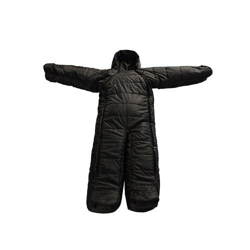 China Factory Price Human Body Shape Wearable Camping Single Sleeping Bag-Cloudyoutdoor