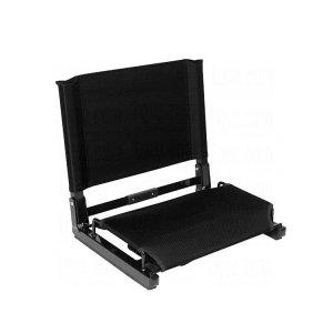 Sport event seat cushions folding legless lazy floor chair folding stadium chair