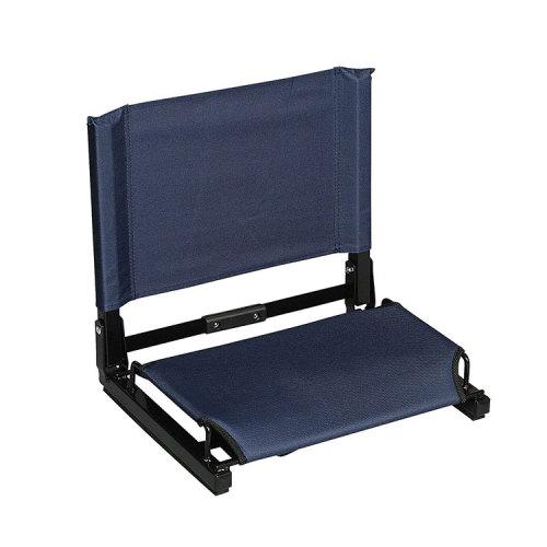 Sport Event Seat Cushions Legless Lazy Floor Folding Stadium Chair-Cloudyoutdoor