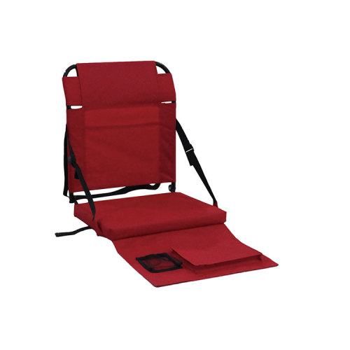 Wholesale Portable Stadium Seats Steel Folding Seat for Boat Football Beach-Cloudyoutdoor